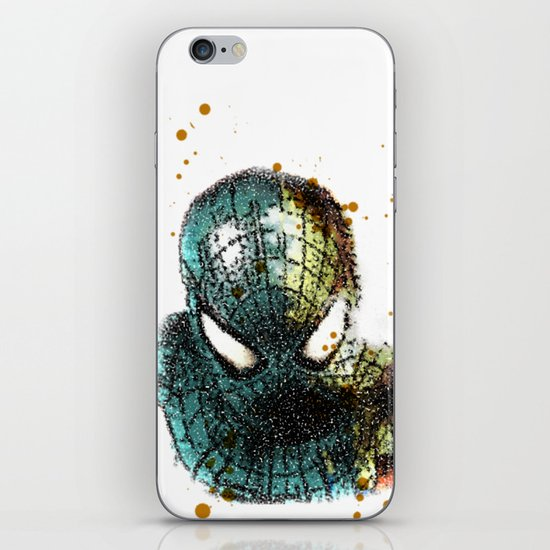 UNREAL PARTY 2012 THE AMAZING SPIDEY SPIDERMAN iPhone & iPod Skin
