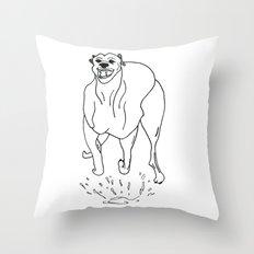 Go Dog, Don't Go Throw Pillow