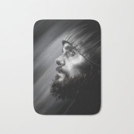 Jared Leto | Monolith Tour Digital Portrait Bath Mat