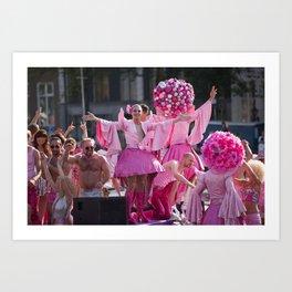 Pride Parade Art Print