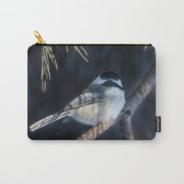 December Chickadee Carry-All Pouch