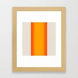 Sunrise Rainbow - Straight Framed Art Print