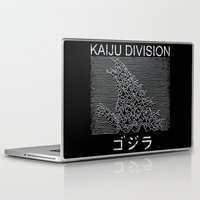 kaiju Laptop & iPad Skins featuring Kaiju Division by pigboom el crapo