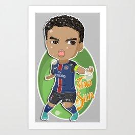Thiago Captain Art Print