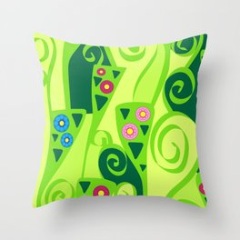 Composizione k Throw Pillow