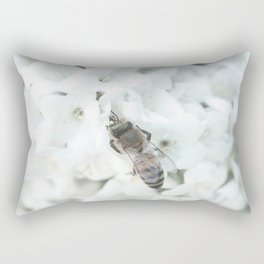 Bee-having Rectangular Pillow