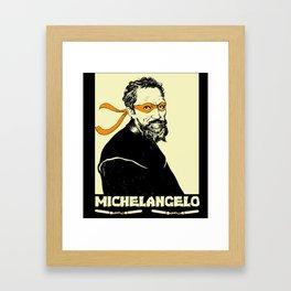 Michelangelo Framed Art Print