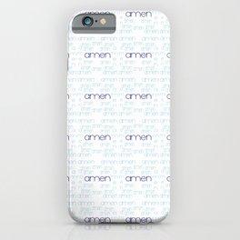 amen 3 iPhone Case