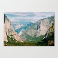 yosemite Canvas Prints featuring Yosemite  by KPC Photography
