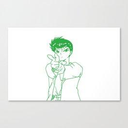 yusuke urameshi Canvas Print