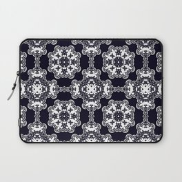 White lace 2 Laptop Sleeve