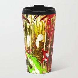 abstraction. fireworks Travel Mug