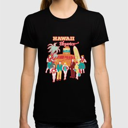 Hawaii elegance in action T-shirt