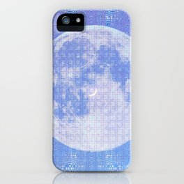 Magick Square Moon Invocation iPhone Case