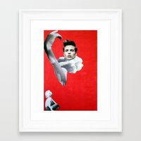 pride Framed Art Prints featuring Pride by Mimi Rico