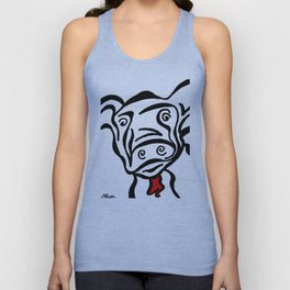 Red Cow Unisex Tank Top