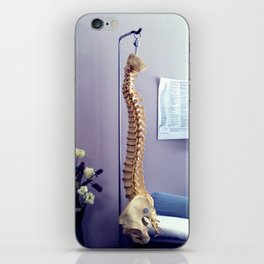 spine iPhone Skin