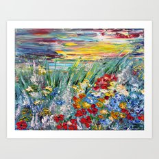 THE FIELD Art Print