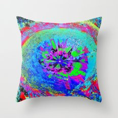 Eye Of The Universe Throw Pillow