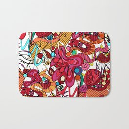 Spanish dance Bath Mat