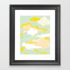 70's Sky Framed Art Print
