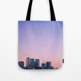 Summer Skyline Tote Bag