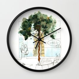 Syberia Mall Wall Clock