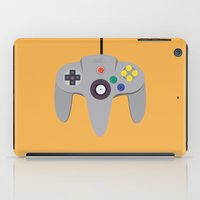 nintendo iPad Cases featuring Nintendo 64 by labrownie