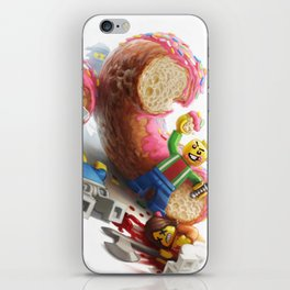 The Doughnut Murders iPhone Skin