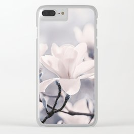 Magnolia gray 116 Clear iPhone Case
