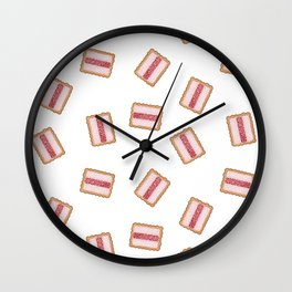 Iced Vovo a GoGo in White Wall Clock
