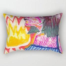 Don't play with me Rectangular Pillow
