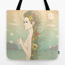 Facade of Existence (Let Life Blossom) Tote Bag