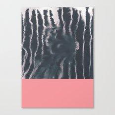 Faux Dye Pink Canvas Print
