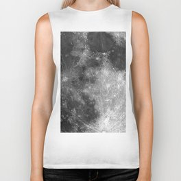 Black & White Moon Biker Tank
