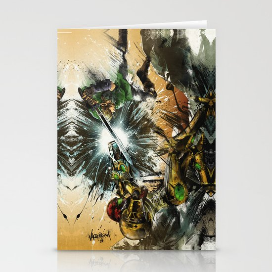 The Battlefield Stationery Cards