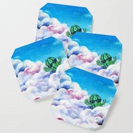 Cloud Surfing Cactus Coaster