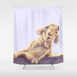 Diablo Shower Curtain