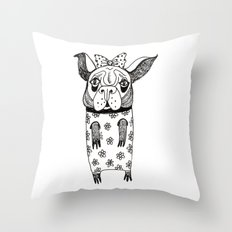 Criminal Throw Pillow