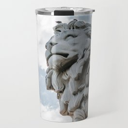 the unnamed london lion Travel Mug