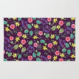 Etno flowers Rug