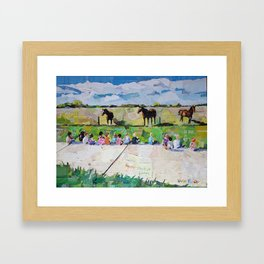 Colorado School Framed Art Print