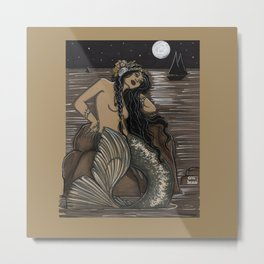 Mermaid Folies 14 Metal Print