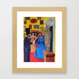 The Portobello Egyptologist Framed Art Print