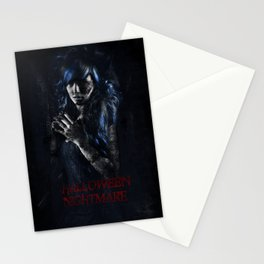 Halloween Nightmare Film Stationery Cards