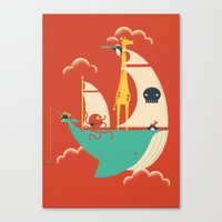 voyage Canvas Prints featuring Voyage by Jay Fleck
