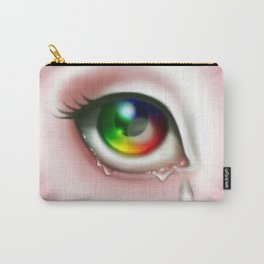 Rainbow Eye - Cry for Me Carry-All Pouch