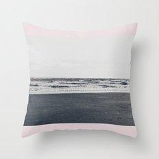Salt & Surf Throw Pillow