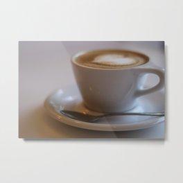 Coffee Date Metal Print