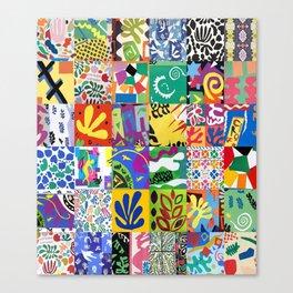 Henri Matisse Montage Canvas Print